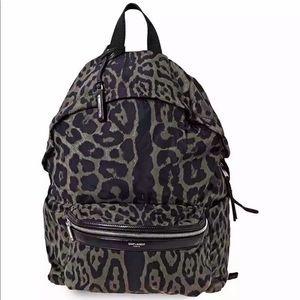 SAINT LAURENT Foldable 2-way Backpack Belt Bag